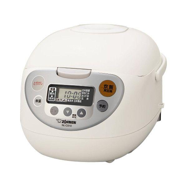 象印マホービン マイコン炊飯ジャー 5.5合 ホワイト NL-CA10 WA