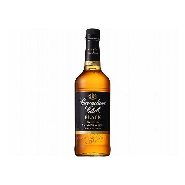 カナディアンクラブ ブラック ウイスキー類 カナダ産 700ml×1本 40度 【単品】【S1】