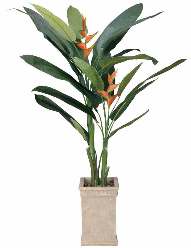 アートグリーン 人工観葉植物 光触媒 光の楽園 ヘリコニア2(代引き不可)【送料無料】