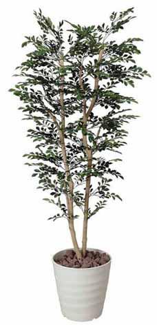 アートグリーン 人工観葉植物 光触媒 光の楽園 トネリコ1.8(代引き不可)【送料無料】【S1】