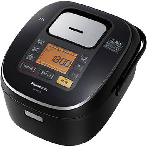パナソニック IHジャー炊飯器(1合-1升) SR-HB185-K ブラック(代引不可)【送料無料】