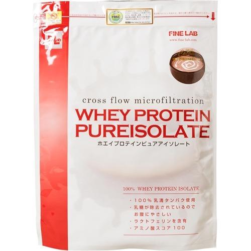 ファイン・ラボ ホエイプロテイン ピュアアイソレート ミルクココア風味 2kg