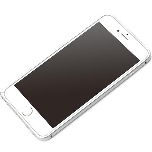 iPhone6 PLus用 アルミバンパー シルバー PG-I6LBP01SV(1コ入)():リコメン堂生活館