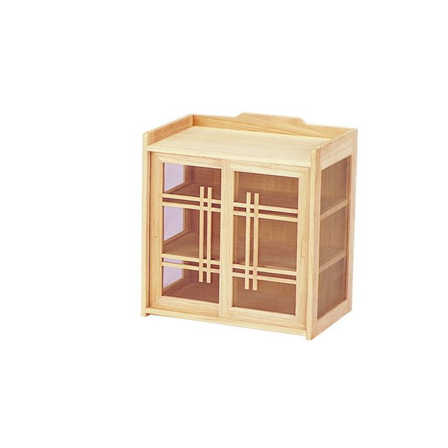 和風蝿帳 KH-470 天然木 収納 フードカバー 食卓カバー 蝿帳 台所収納 台所用品 キッチン 棚(代引不可)【送料無料】