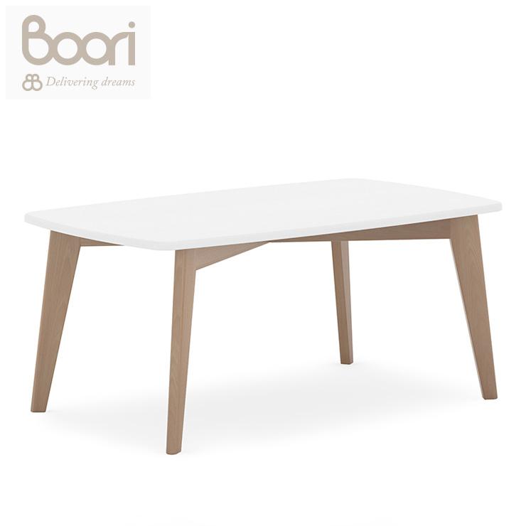 BOORI ブーリ 長方形キッズテーブル テーブル 机 デスク 子供用 こども用 長方形テーブル キッズテーブル 子供テーブル(代引不可)【送料無料】