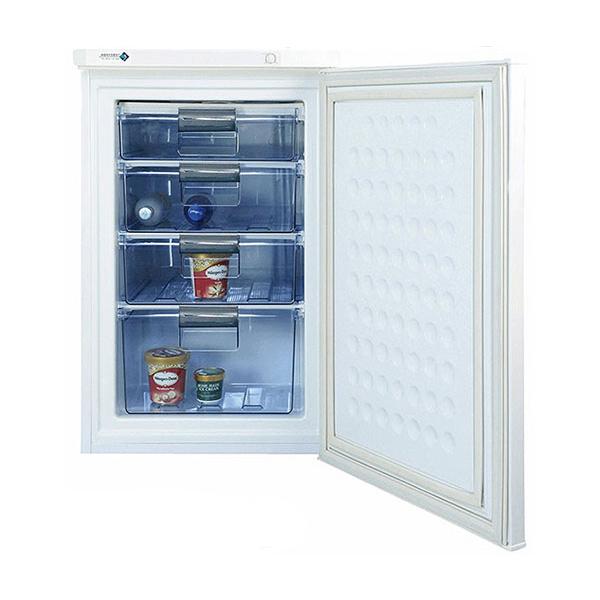 ノーフロスト 直冷式冷凍庫 85L FFU85R アップライトフリーザー 前開き 1ドア(代引不可)【送料無料】