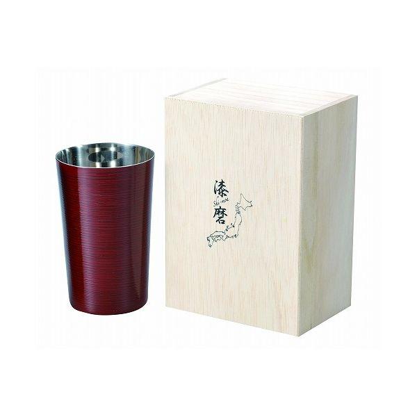 アサヒ こだわりの極み 食楽工房 2重焼酎カップ根来塗り SCW-T702【送料無料】