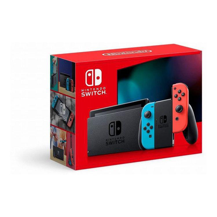 任天堂 Nintendo Switch (ニンテンドースイッチ) 新型 【Joy-Con (L) ネオンブルー/ (R) ネオンレッド】 HAD-S-KABAA【送料無料】