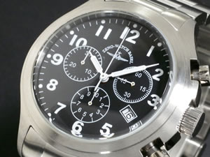ZENO ゼノ 腕時計 メンズ スイス製 926Q-SV-MT【送料無料】