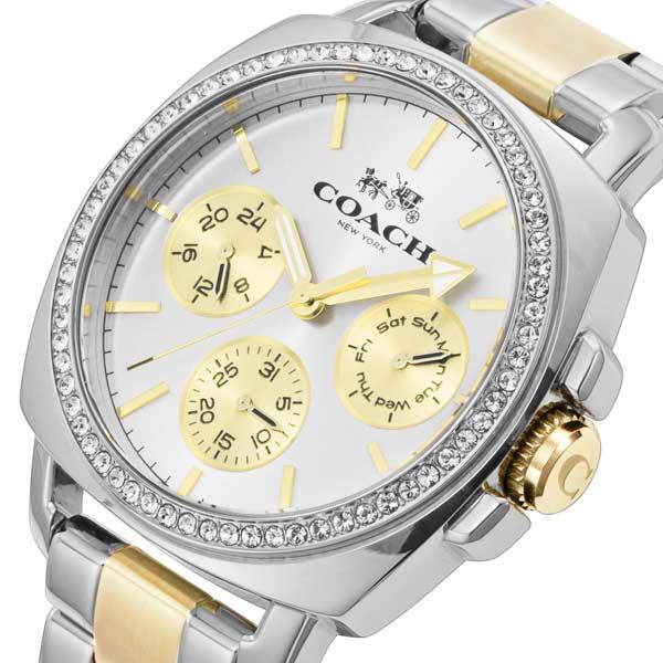 コーチ COACH ボーイフレンド クオーツ レディース 腕時計 時計 CO14502082 ホワイト