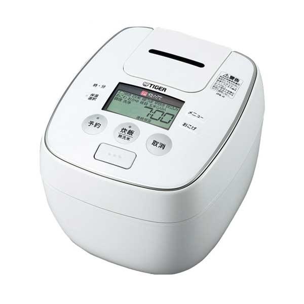 タイガー TIGER 圧力IH炊飯ジャー JPB-H180W 1L ホワイト