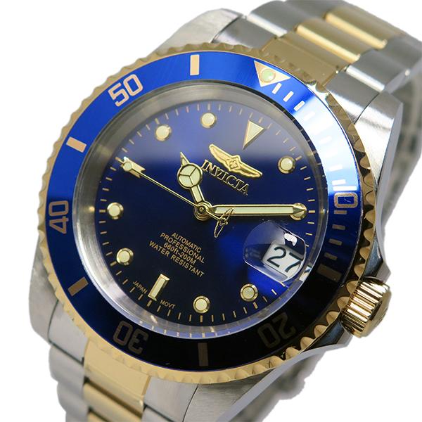 ラッピング無料 WEB限定 インヴィクタ INVICTA 自動巻き メンズ 腕時計 最安値挑戦 時計 8928OB ネイビー