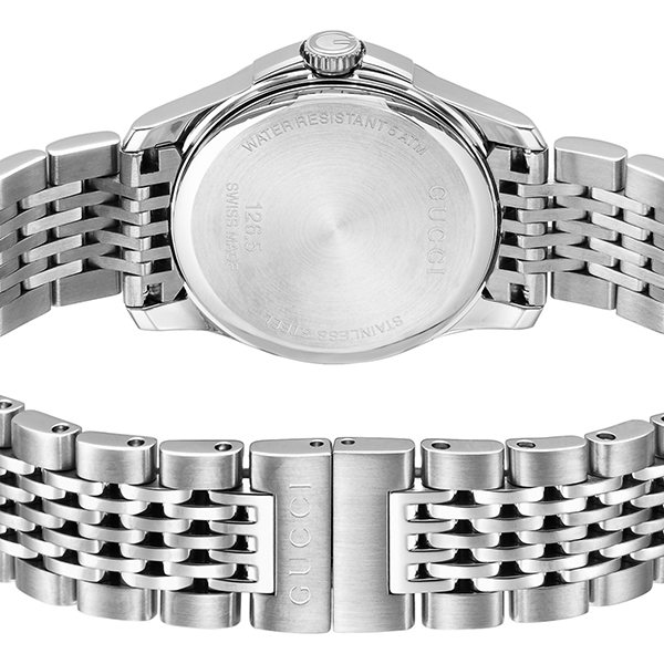 グッチ GUCCI Gタイムレス クオーツ レディース 腕時計 YA126533 ホワイトパール【】【楽ギフ_包装】