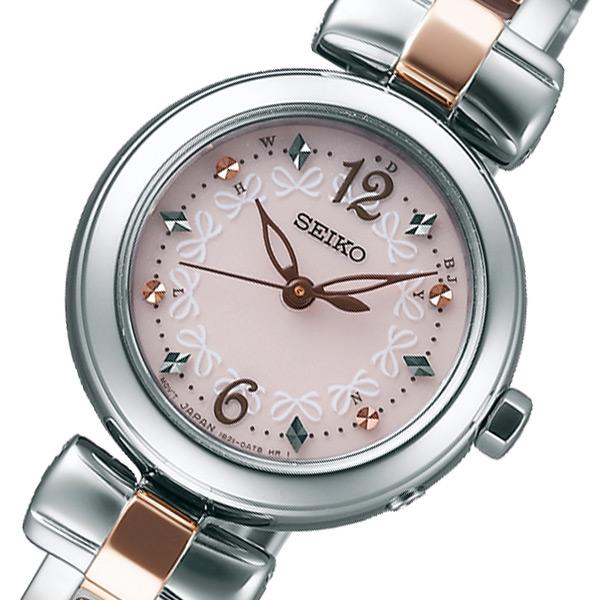 セイコー SEIKO ティセ ソーラー レディース 腕時計 時計 SWFH043 ピンク 国内正規