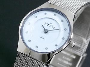 【逸品】 スカーゲン SKAGEN 腕時計 ウルトラスリム レディース 233XSSZI【送料無料】【RCP】, 住宅専門金物卸販売 キザイ本舗 4917c665