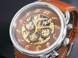 即日発送 ブルッキアーナ BROOKIANA 腕時計 自動巻き BA1658-GPBR, ATENダイレクト 3e37456c