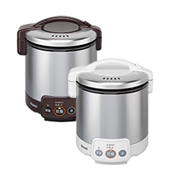 リンナイ こがまる ガス炊飯器 VM LPガス用 RR050VM-W-LPG ホワイト