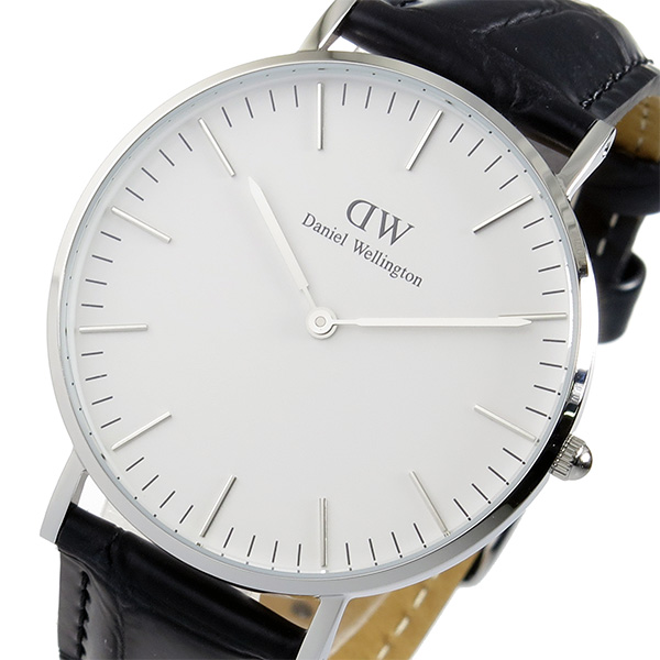 ダニエル ウェリントン クラシック リーディング/シルバー 36mm 腕時計 時計 0613DW