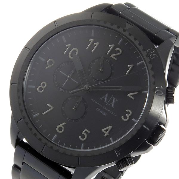 低価格の アルマーニ クオーツ エクスチェンジ クロノ クオーツ メンズ 腕時計 時計 時計 AX1751 腕時計 ブラック, 京都かしいしょう:5e62fe9d --- rishitms.com