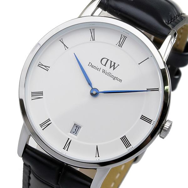 ダニエル ウェリントン ダッパー リーディング/シルバー 34mm 腕時計 時計 DW00100117