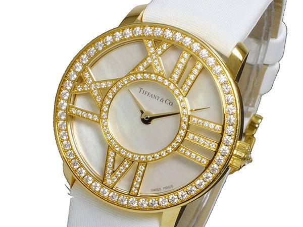 ティファニー TIFFANY&CO アトラス カクテル ラウンド クオーツ レディース 腕時計 Z1900.10.50E91A40B (き)【送料無料】