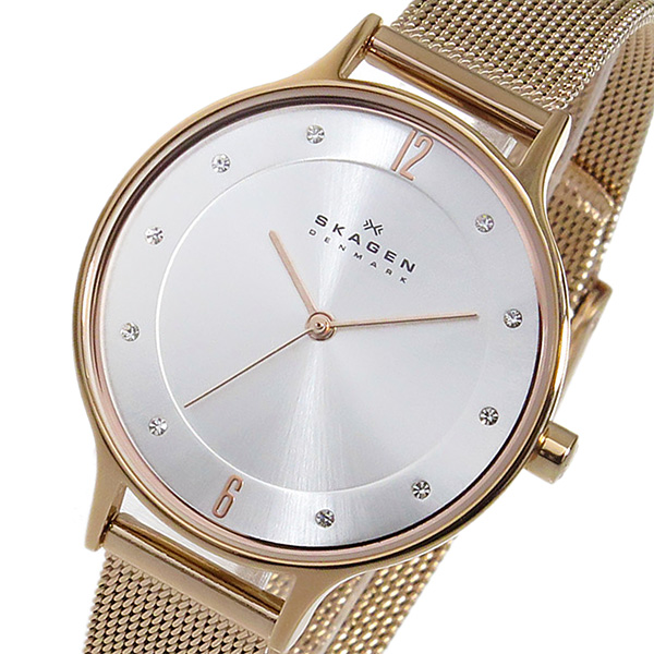 スカーゲン SKAGEN アニータ クオーツ レディース 腕時計 時計 SKW2151 シルバー