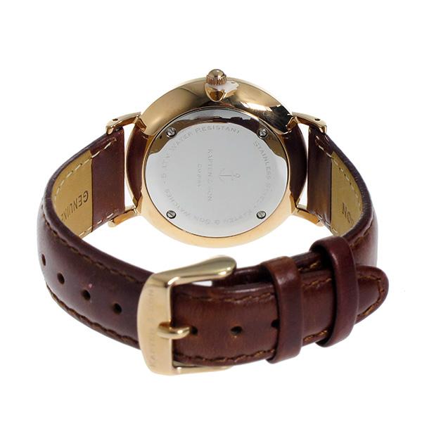 キャプテン サン KAPTEN SON 36mm クオーツ レディース 腕時計 時計 GD KS36BKBRL ブラック ピンクゴールドkXZuiP