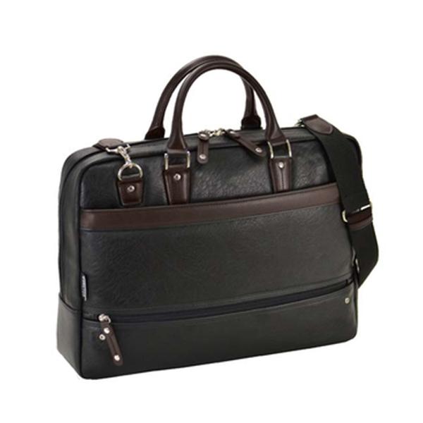 ハミルトン HAMILTON 合皮ビジネスシリーズ メンズ ビジネスバッグ ブリーフケース 26625 ブラック