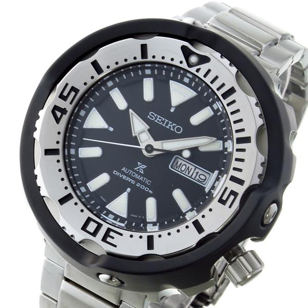 セイコー SEIKO プロスペックス PROSPEX 自動巻き メンズ 腕時計 SRPA79J1 ブラック【送料無料】