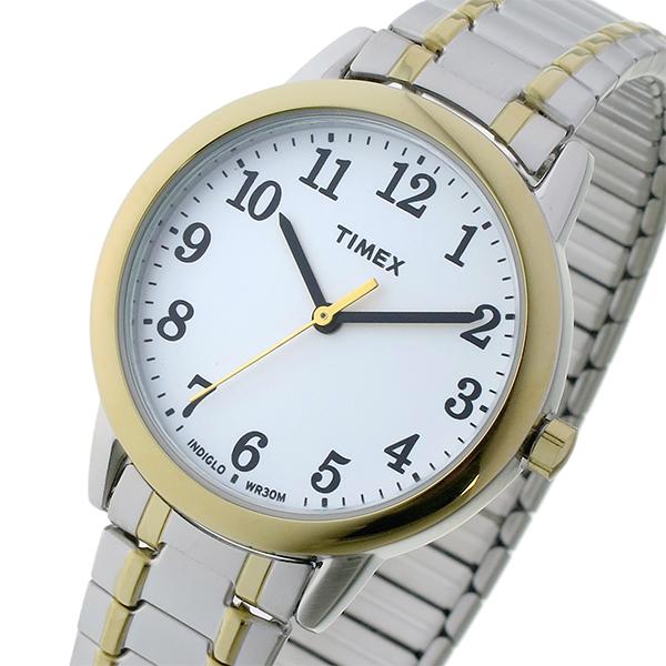 タイメックス TIMEX イージーリーダー Easy Reader クオーツ レディース 腕時計 時計 TW2P78700 ホワイト【楽ギフ_包装】