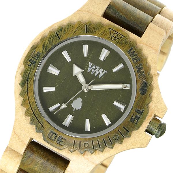 ウィーウッド WEWOOD 木製 DATE BEIGE ARMY デイト ユニセックス 腕時計 時計 9818100 アーミー 国内正規