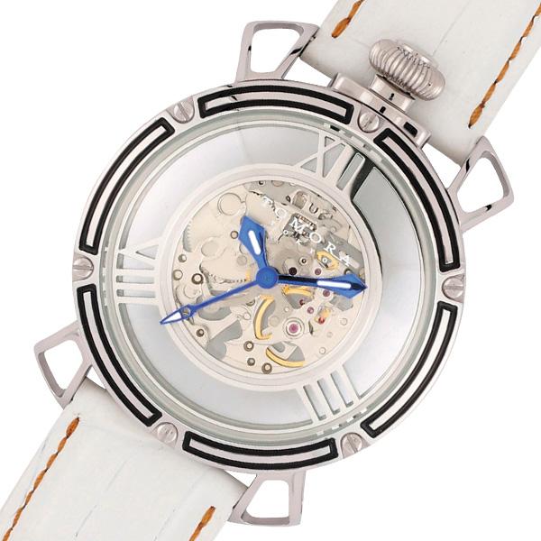 トモラ TOMORA TOKYO 手巻き メンズ 腕時計 T-1607SB-WH2 スケルトン/ホワイト【送料無料】
