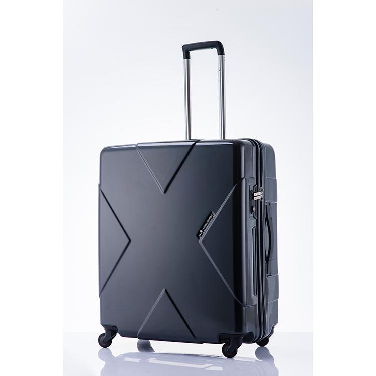 ヒデオワカマツ HIDEO WAKAMATSU メガマックス スーツケース 85-75951 ブラック