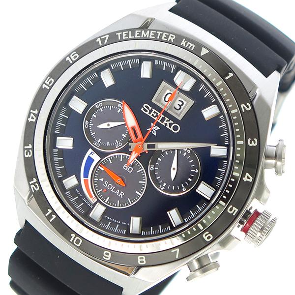 セイコー SEIKO プロスペックス PROSPEX ソーラー メンズ 腕時計 SSC605P1 ネイビー【送料無料】