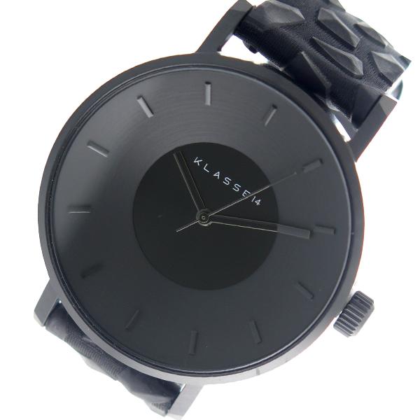 クラス14 KLASSE14 クオーツ ユニセックス 腕時計 時計 KO17BK002M ブラック