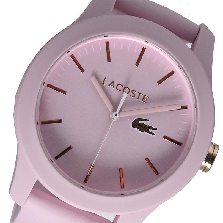 ラコステ LACOSTE  クオーツ レディース 腕時計 時計 2001003 ピンク