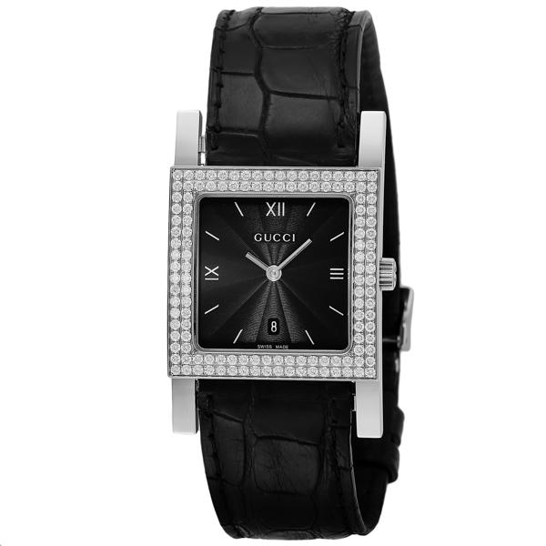 グッチ GUCCI 7900 クオーツ レディース 腕時計 YA079306 ブラック【送料無料】