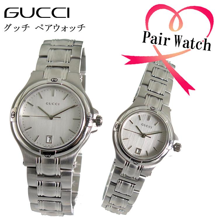【ペアウォッチ】 グッチ GUCCI クオーツ 腕時計 YA090318 YA090520【送料無料】