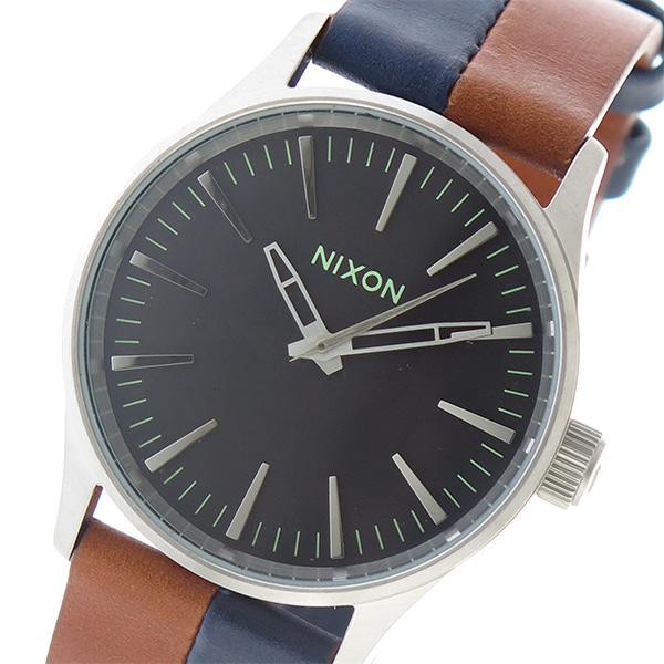 ニクソン NIXON SENTRY38 クオーツ ユニセックス 腕時計 時計 A377-1957 ブラック【楽ギフ_包装】