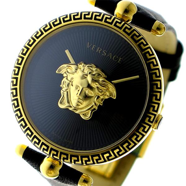 ヴェルサーチ VERSACE PALAZZO EMPIRE クオーツ レディース 腕時計 VCO020017 ブラック【送料無料】