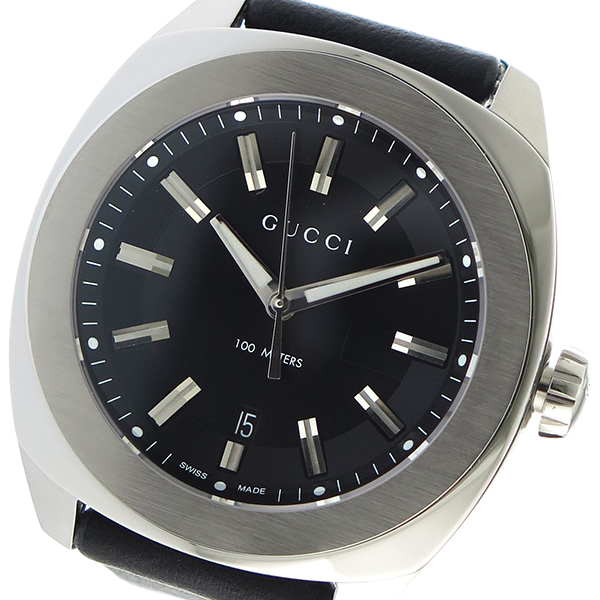 a71921954c2 Gucci GUCCI GG2570 quartz men watch clock black. World-famous Italian  fashion brand GUCCI (Gucci). Let alone clothes