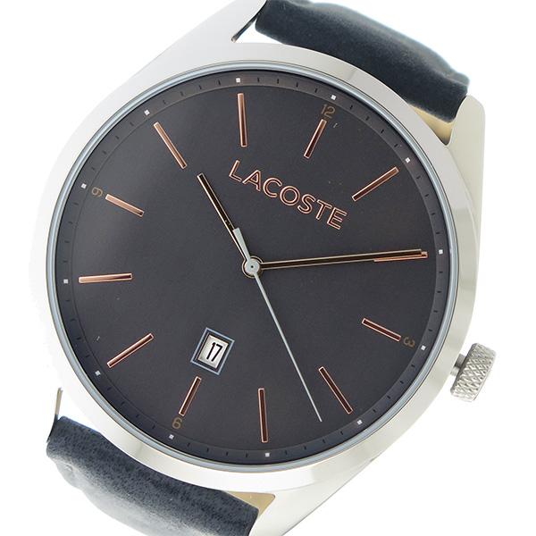 ラコステ LACOSTE クオーツ メンズ 腕時計 時計 2010911 メタリックグレー