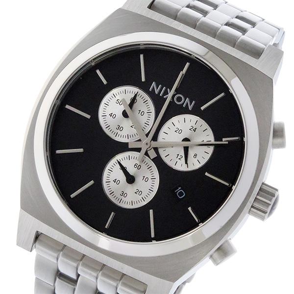 ニクソン NIXON タイムテラー クロノ TIME TELLER クオーツ ユニセックス 腕時計 時計 A972-2348 ブラック【楽ギフ_包装】