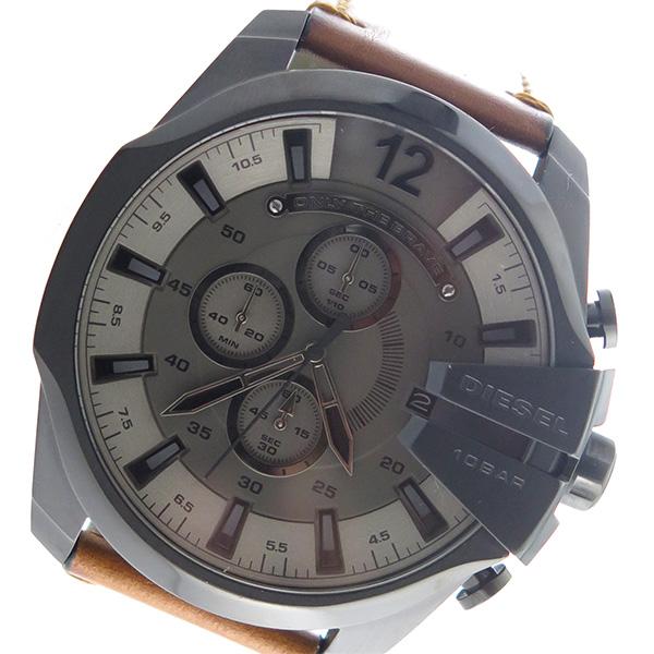 ディーゼル DIESEL タイムフレームス TIMEFRAMES クロノ クオーツ メンズ 腕時計 時計 DZ4463 ガンメタ