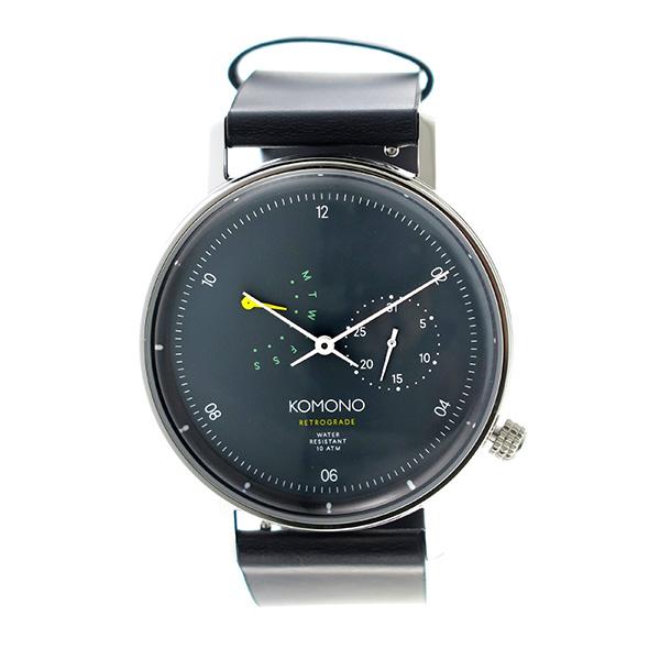 コモノ KOMONO Walther クオーツ ユニセックス 腕時計 時計 KOM-W4031 グレー【楽ギフ_包装】