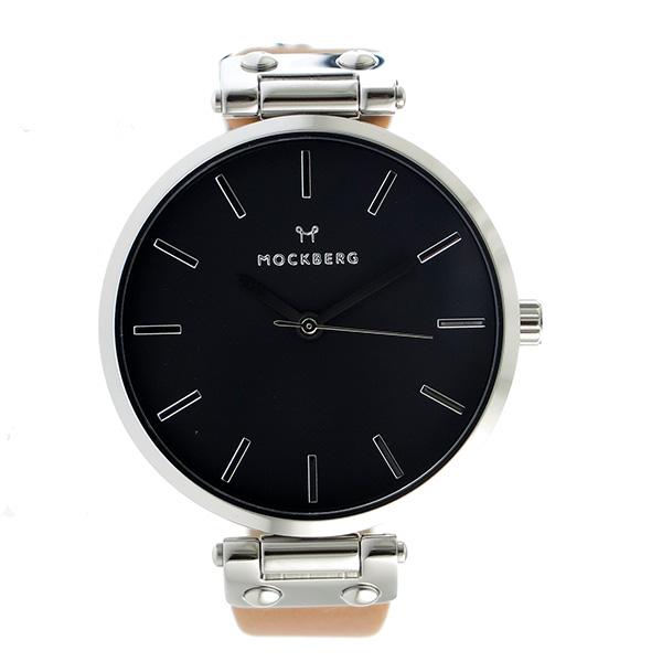 モックバーグ MOCKBERG クオーツ レディース 腕時計 時計 MO112 ブラック【楽ギフ_包装】
