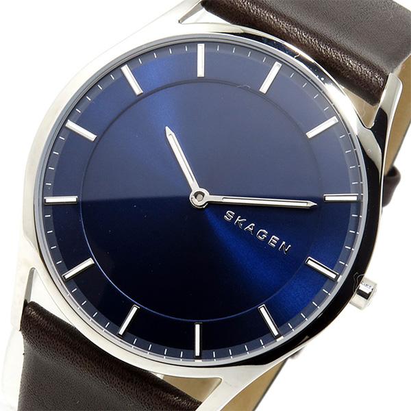 スカーゲン SKAGEN クオーツ メンズ 腕時計 時計 SKW6237 ネイビー
