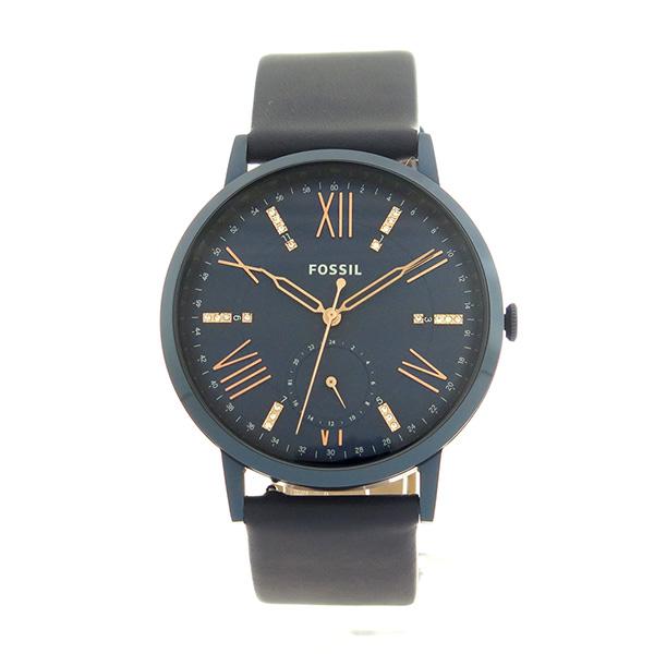 フォッシル FOSSIL クオーツ レディース 腕時計 時計 ES4109 ネイビー ネイビーCxWreBdo