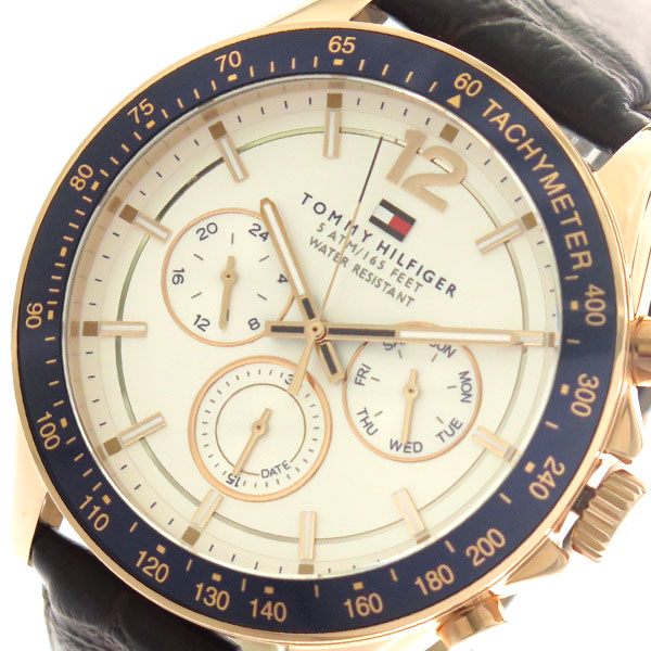 トミーヒルフィガー TOMMY HILFIGER 腕時計 時計 メンズ 1791118 クォーツ シルバー ダークブラウン