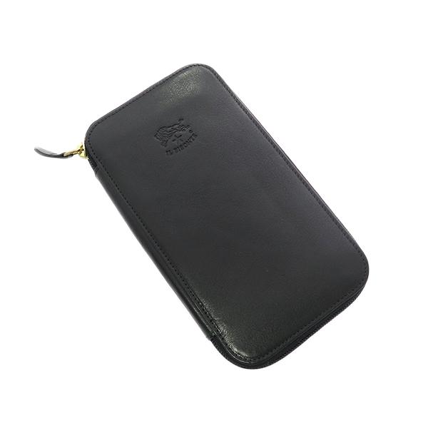 9b90cea91d05 イルビゾンテ IL BISONTE 長財布 メンズ レディース C0442-P-153 ブラック